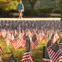 911 flags at gt