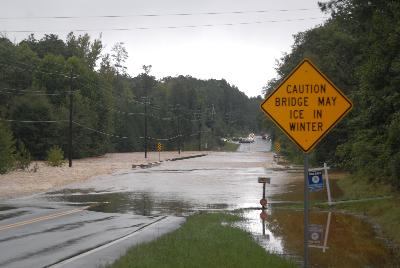 Hwy 92 just north of Douglas-Paulding line