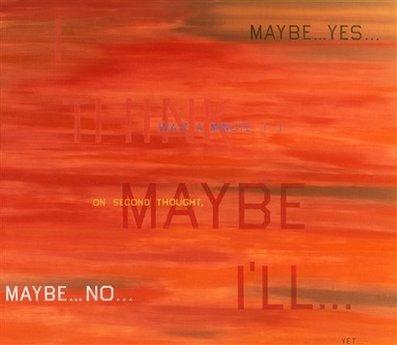 I think I'll... by Ed Ruscha