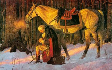 George-Washington-praying